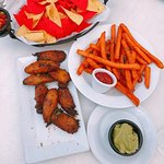 Plantain, Chips, and Sweet Potato Fries