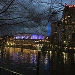 Southbank on a wintery night