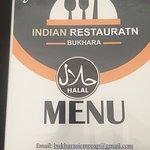 Photo de Bukhara Indian Restaurant