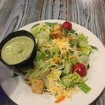 Fresh salad w/lime dressing