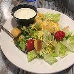 Fresh salad w/ranch dressing