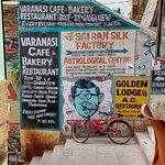 Varanasi cafe D3/75 Meerghat.