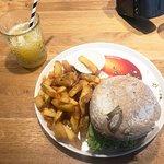 MD Seitan burger