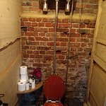 Just had to show the old fashioned water closet
