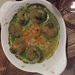 Champignons farcis aux escargots de Rémy Koehl