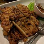 grilled pork neck...