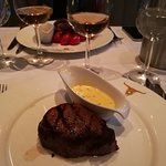 The 8 oz. Centre Cut Fillet with Bearnaise Sauce