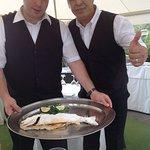 Ali en Francesco, the best waiters of sicily