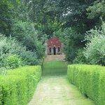 Well organised garden