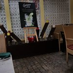 Restaurant boundary view