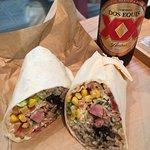 ブリトーとメキシカンビール