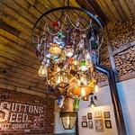 The Botanist Restaurant Chandelier