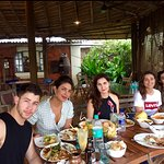 Priyanka Chopra ,Nick Jonas and friends having lunch at Pousada by the Beach