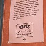 Foto de Tim's Stray Dog Cantina