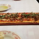 Italian Sausage Flat-Bread