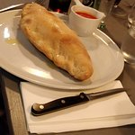 A Calzone ordered by my neighbour, one of the consultants.