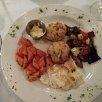 Chef Meseret Crockett provides a wonderful Dining experience.