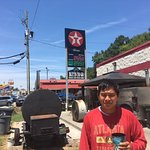 Very Good BBQ in a Texaco