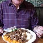 It was the beef casserole on the specials menue and it was very tasty and a large portion