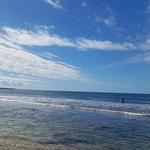 beautiful white sand beach great for swimming