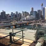Room views to the northern end of Darling Harbour