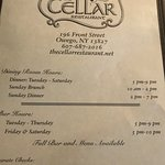 Foto The Cellar Restaurant & Bar on the River