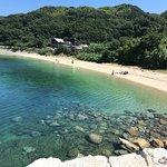 One of the beautiful beaches in Suo-Oshima.