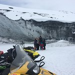 One of our many glacier tours we do.