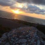 Solnedgången så härligt