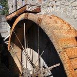 Mulino di San Giuseppe, particolare della ruota
