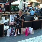 Shopping and coffee break at Mercarto Mall