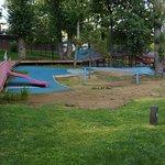 Вид на детский комплекс
