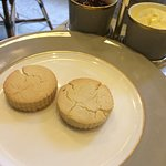 Gluten free scones...(if you can call them scones)