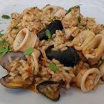 Seafoood risotto