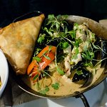 Goan curry main course