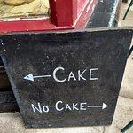 we chose cake