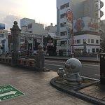 Ampan Man & Baikin Man Statue照片