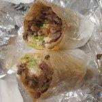Greasy burrito...NOT AS DESCRIBED