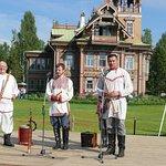 Нерехтский рожечный хор на празднике