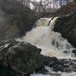 Waterfall in Virginia - yes the park reaches over there too. limited parking