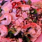 Quino Kale Salad w/Shrimp