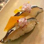 Nigiri de pejerrey anconero - Shizen