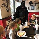 Batman visits the table