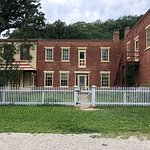 Old building in historic foresville. Tours available, and you can look around yourself.