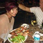 Paula got the lobster!
