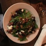 spinach salad was so good