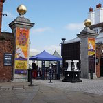 Entrance to the Historic Portsmouth Dockyards