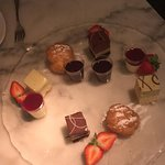 Sharing dessert at Fufmo