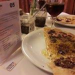 Pizza de queijo com Molho Especial Costazul - Azeitona Preta. Uau !!!