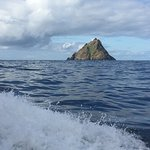 First sight of Skellig Michael